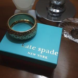 Gold tone Kate Spade  Bangle